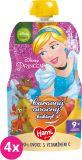 4x HAMI Disney Princess ovocná kapsička Kouzelný ovocný koktejl 110 g, 9+