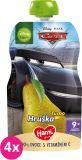 4x HAMI Disney Cars ovocná kapsička Turbo Hruška 110 g, 9+