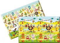 LALALU Podložka na hraní PREMIUM Small, 140 x 140 x 1,2 - Happy Birthday