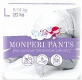 MONPERI Plienkové nohavičky Pants L 8-14 kg