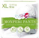 MONPERI Plienkové nohavičky Pants XL 13-18 kg