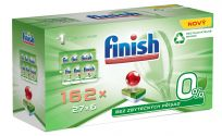 FINISH Green 0% (162 szt.) Gigapack – tabletki do zmywarki