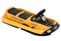 HAMAX Snežné boby Sno Taxi – žlté/čierne