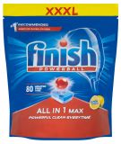 FINISH All-in-1 Max Lemon 80 szt. – tabletki do zmywarki
