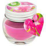 AIR WICK Ružový hrachor 30 g – sviečka