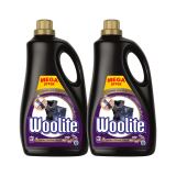 WOOLITE Dark, Black & Denim 7.2 l (120 dávek) – prací gel
