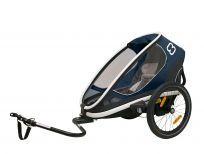 HAMAX Outback ONE - jednomiestny vozík za bicykel s ramenom + kočíkový set