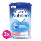 3 x NUTRILON 1 Good Night počáteční kojenecké mléko 800 g, 0+