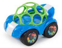 OBALL Hračka autíčko Rattle&Roll Oball™ modro/zelené 3m+