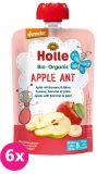 6x HOLLE Apple Ant Bio pyré jablko banán hruška 100g (6+)