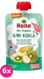 6x HOLLE Kiwi Koala Bio pyré hruška banán kiwi 100g (8+)