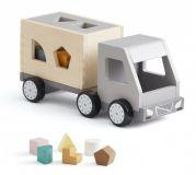 KIDS CONCEPT Ciężarówka z klockami drewniana Aiden