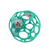 OBALL RATTLE hračka 10 cm 0 m+ dark turquoise