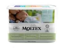 MOLTEX Plenky Pure & Nature Newborn 2-4 kg (22 ks)
