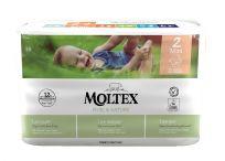 MOLTEX Plenky Pure & Nature Mini 3-6 kg (38 ks)
