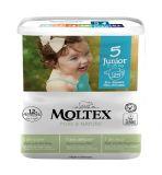 MOLTEX Plenky Pure & Nature Junior 11-25 kg (25 ks)
