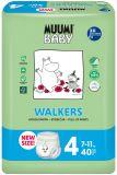 MUUMI Baby Walkers Maxi size 4 (7-11 kg) 40 szt. – pieluchy jednorazowe