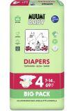 MUUMI Baby Maxi size 4 (7-14 kg) Big Pack 69 ks – jednorázové pleny