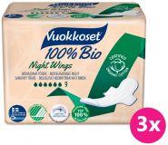 VUOKKOSET 100% BIO 27 Night wings – dámské vložky