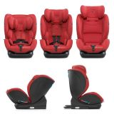 KINDERKRAFT MyWay Isofix Fotelik samochodowy (0-36 kg) 2020 - czerwony