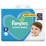 PAMPERS Active Baby 6 (13-18 kg) 96 szt. MEGA PACK – pieluchy jednorazowe