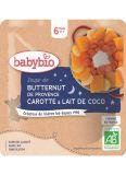 BABYBIO Polévka z máslové dýně s mrkví a kokosovým mlékem (190 g) - zeleninový příkrm