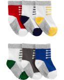 CARTER'S Ponožky Boots chlapec 6 ks, 0-3 m, vel. 56