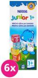 6x NESTLÉ Junior 1+ Mliečna výživa pre batoľatá 200 ml - expirácia 28.02.2020