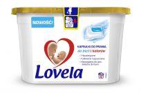 LOVELA White&Colors gelové kapsle na praní12 ks