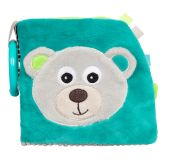 CANPOL BABIES Plyšová knížka Medvídci šedá