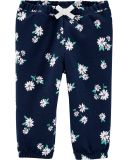 CARTER'S Kalhoty dlouhé Flowers dívka 24 m/vel. 92