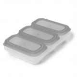 SKIP HOP Nádobky na uskladnění jídla stohovatelné 3 x 118 ml