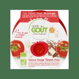 GOOD GOUT BIO Rajčátka s červenou quinou a sýrem Feta 220 g