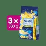 3x NESTLÉ Mléčná kaše Banánová Dobrou noc 300 g