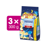 3x NESTLÉ Mléčná kaše Ovocná Dobrou noc 300 g