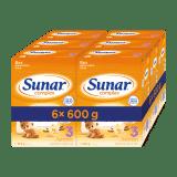 6x SUNAR Complex 3 vanilka, 600 g