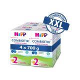 4x HiPP 2 BIO Combiotik - následná mliečna dojčenská výživa, 700g