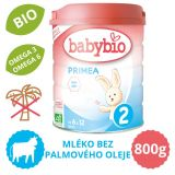 BABYBIO PRIMEA 2 kojenecké bio mléko (800 g)