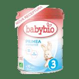 BABYBIO PRIMEA 3 Croissance dojčenské bio mlieko 800 g