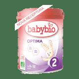 BABYBIO OPTIMA 2 dojčenské bio mlieko 800 g