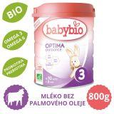 BABYBIO OPTIMA 3 Croissance kojenecké bio mléko 800 g