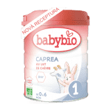 BABYBIO caprea 1 plnotučné kozie dojčenské bio mlieko 800 g