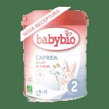 BABYBIO caprea 2 plnotučné kozie dojčenské bio mlieko 800 g