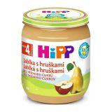HiPP BIO Jablká s hruškami od uk. 4. mesiaca, 125 g