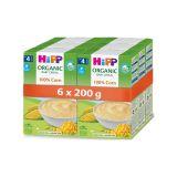 6 x HiPP BIO První obilná kaše - 100 % kukuřičná od uk. 4. měsíce 200 g