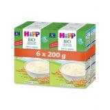 6 x HiPP BIO Obilná kaše 100% rýžová od uk. 4. měsíce, 200 g