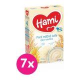 7x HAMI XXL mléčná kaše rýžovo-kukuřičná 225 g, první lžička