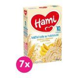 7x HAMI XXL mléčná kaše se 7 obilninami banánová skřupinkami acorn-flakes 225 g, 10+