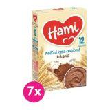 7x HAMI XXL mléčná kaše krupicová kakaová 225 g, 12+