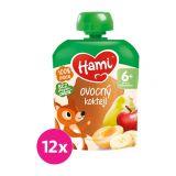 12x HAMI XXL ovocná kapsička Ovocný koktejl 90 g, 6+